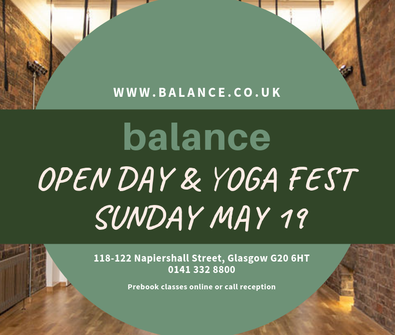 Open Day & Yoga Fest