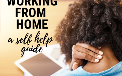 Working from home – self-help guide!!
